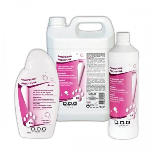 Shampooing Insectifuge Dog Generation