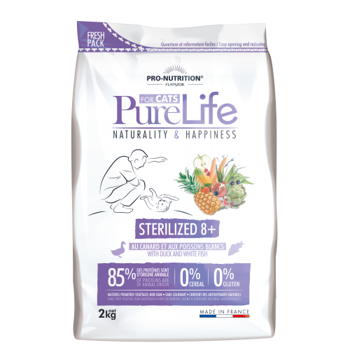 Pure life sterilized 8+