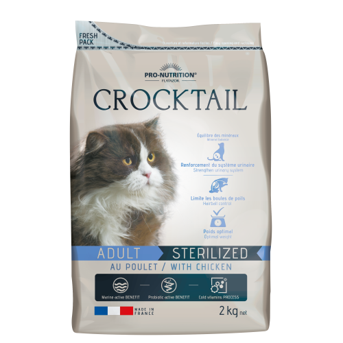 Crocktail Adult Sterilized
