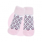 Chaussettes Puppia Rose